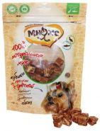 Мнямс Лакомства для собак Кубики из мяса утки с треской (100 г)