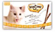 Мнямс Лакомые палочки для кошек с цыпленком и печенью (10х5 г)