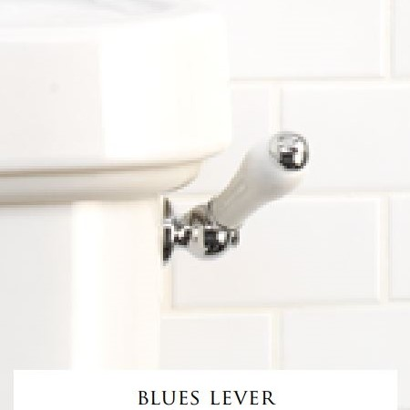 Devon&Devon Blues ручка для моноблока + сливной механизм для бачка моноблока