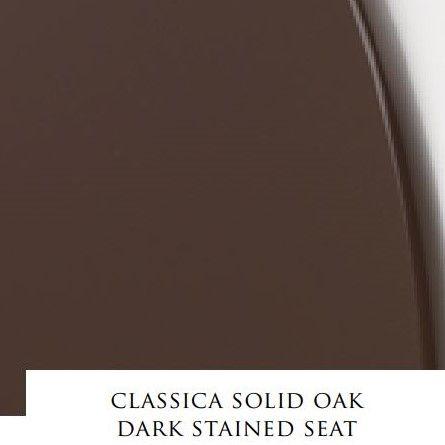 Сиденье с крышкой для унитаза Devon&Devon Classica из массива дуба ФОТО