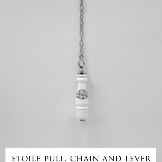 Devon&Devon Etoile сливной механизм, ручка, цепочка и рычаг для высокого бачка
