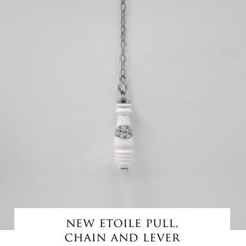 Devon&Devon New Etoile сливной механизм, ручка, цепочка и рычаг для высокого бачка