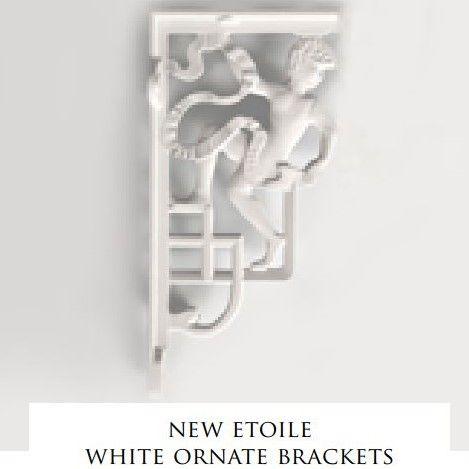 Devon&Devon New Etoile декоративное крепление для высокого бачка (2 шт.) ФОТО