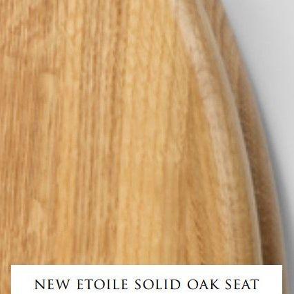 Сиденье с крышкой для унитаза Devon&Devon New Etoile из массива дуба ФОТО