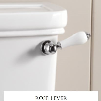 Devon&Devon Rose сливной механизм и ручка бачка