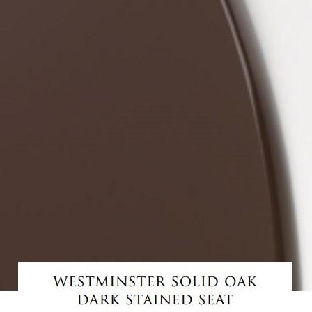 Devon&Devon Westminster сиденье из массива дуба