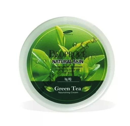 Deoproce - Питательный крем для лица и тела с содержанием экстракта зеленого чая