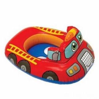 Надувной круг с трусиками Красная машина
