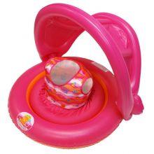 Универсальный надувной круг с навесом 2-IN-1 Baby Boat, Для девочек