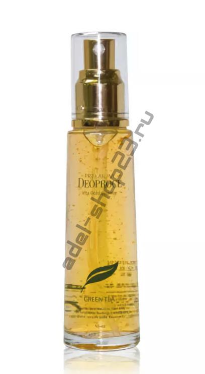 Deoproce - Питательная сыворотка с зеленым чаем и частичками золота