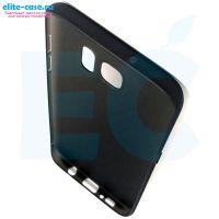 Силиконовый чехол для Samsung S7 Edge черный
