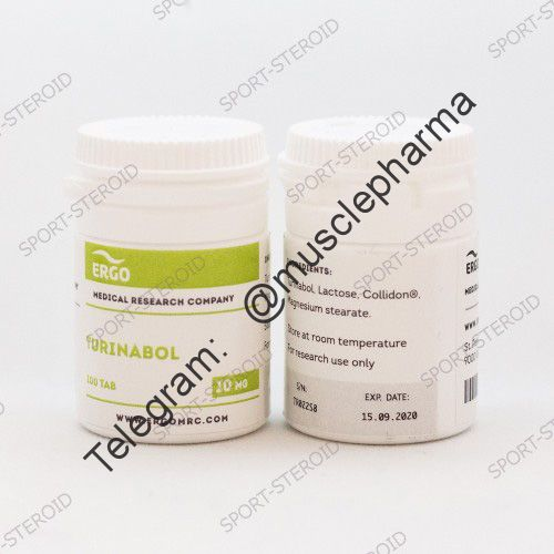 ERGO TURINABOL (ТУРИНАБОЛ). 100 таб. по 10 мг.