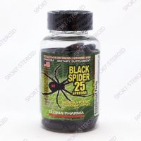 Black Spider ECA 25 - 100 caps (CLOMA PHARMA)