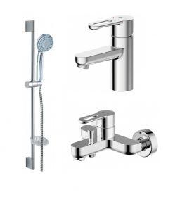 Промонабор для ванной комнаты Bravat STREAM-D 3 в 1 F00311C