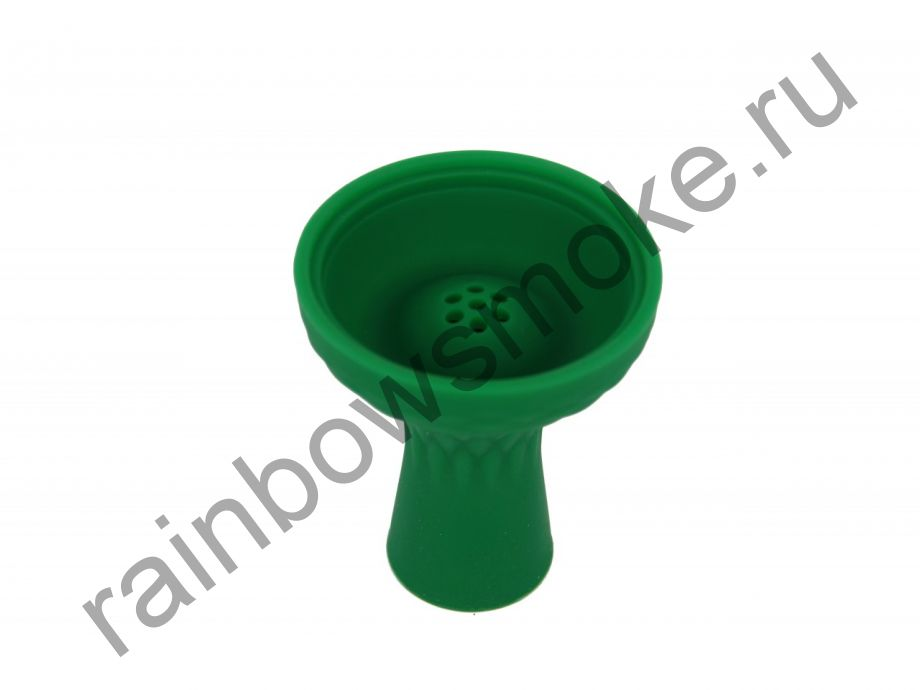 Силиконовая чаша зеленая