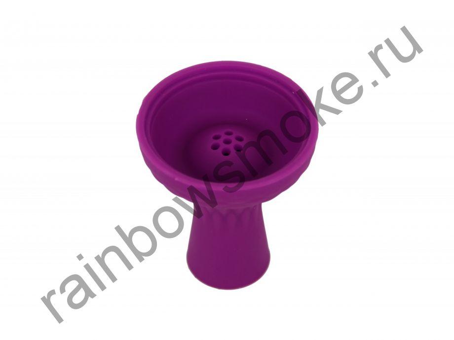 Силиконовая чаша фиолетовая