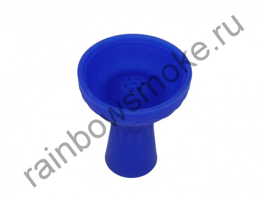 Силиконовая чаша синяя