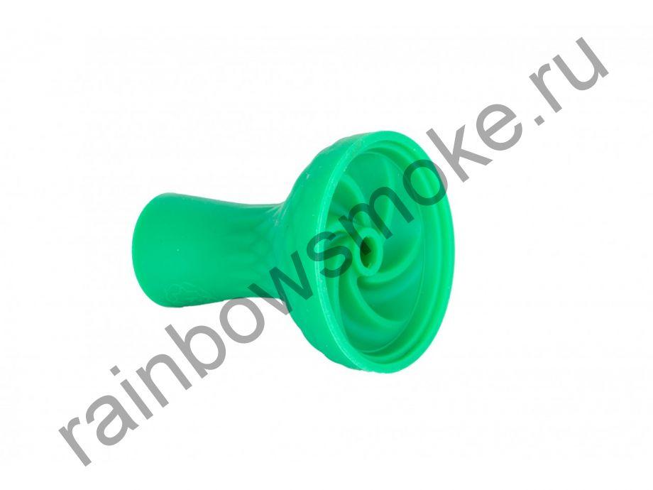 Силиконовая чаша зеленая Bowl 14 (вихрь)
