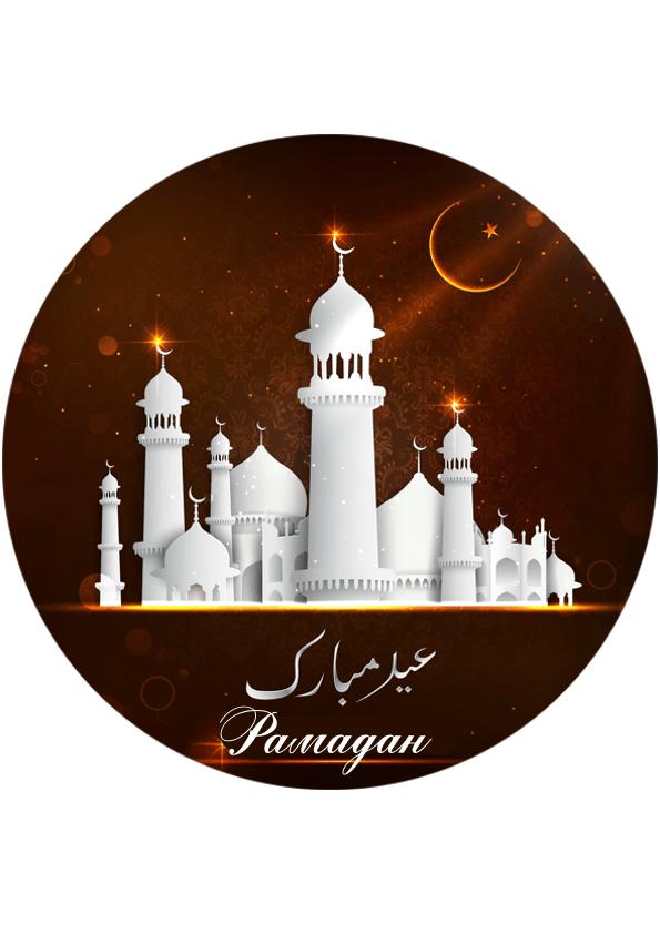 Вафельная картинка Рамадан   (19)