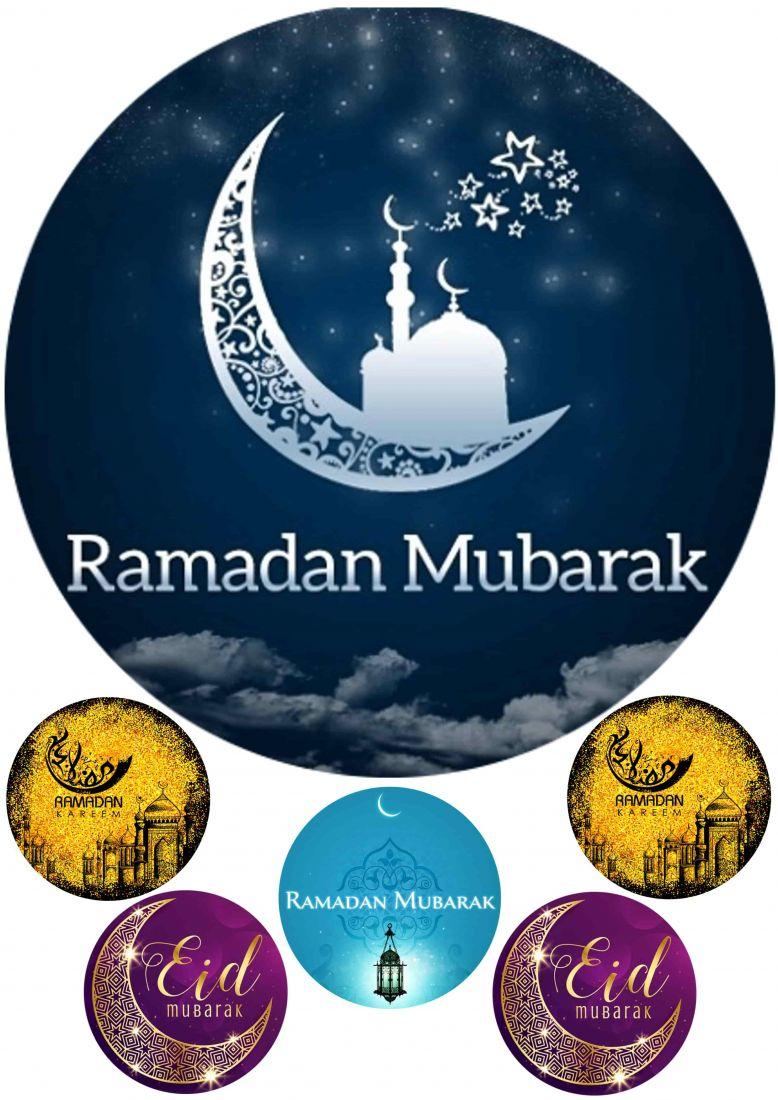 Вафельная картинка Рамадан   (8)
