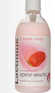"""Lactimilk"" мыло питател. ""клубника и йогурт"" 530"