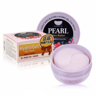 Корейские патчи для глаз гидрогелевые с маслом ши Koelf Pearl & Shea Butter Eye Patch
