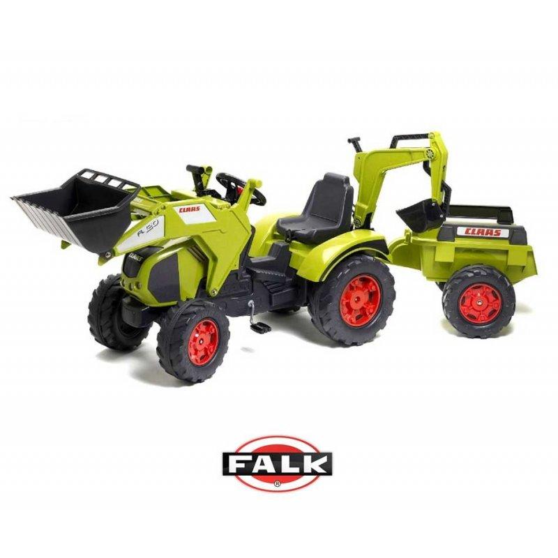 Трактор FALK CLASS с прицепом и ковшом 1010Y