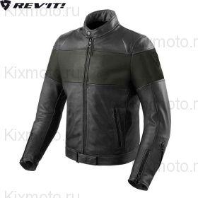 Мотокуртка Revit Nova Vintage, Черный/Зеленый