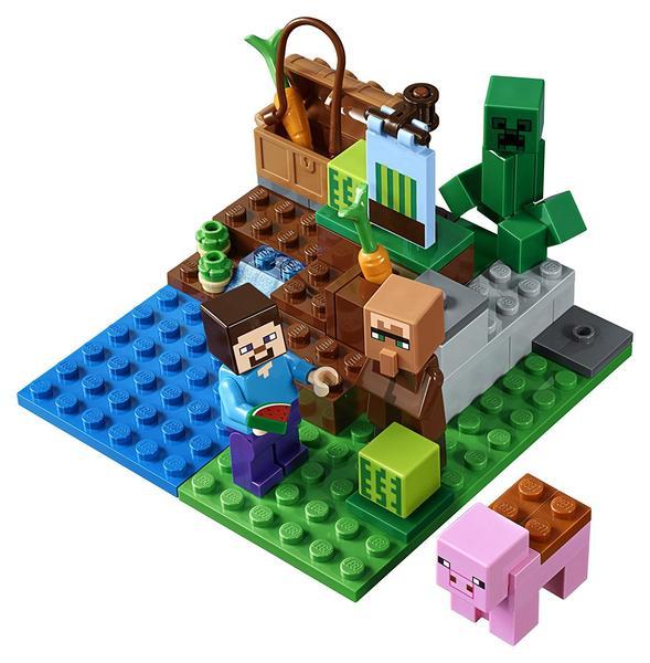 "Lepin CubeWorld""Арбузная ферма"" 77 деталей No.18033"