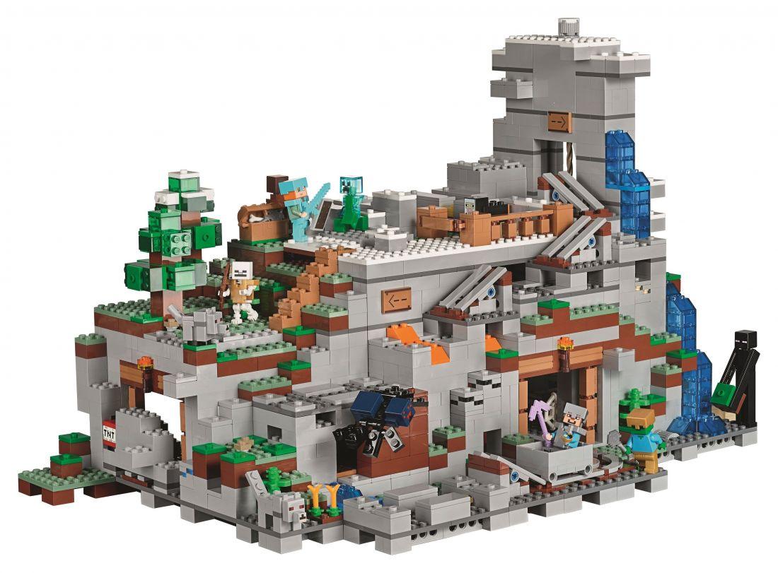 """Lepin CubeWorld """"Горная пещера"""" 2932 деталей No.18032"""