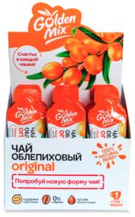 """""""АБ"""" GoldenMix чай облепиховый Original , 1*18гр"""