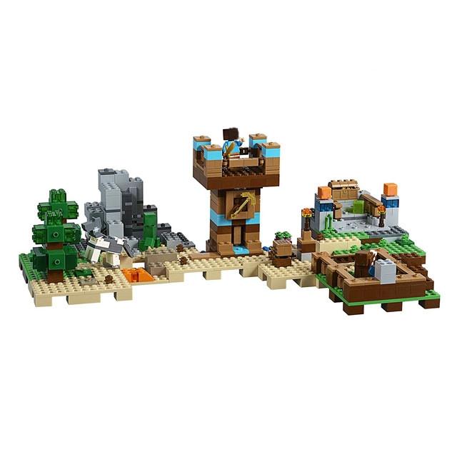 "Lepin CubeWorld""Хижина на острове"" 664 деталей No.18030"