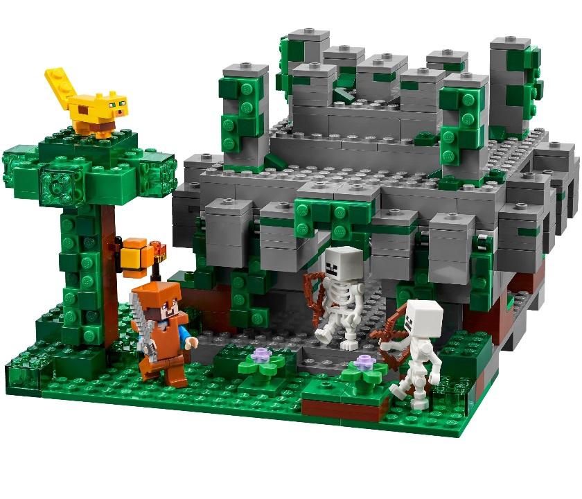 """Lepin CubeWorld""""Храм в джунглях"""" 504 деталей No.18026"""