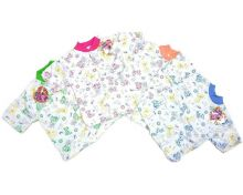 """Кофта для новорожденных с коротким рукавом C-KF125-SU(b) супрем 100% хлопок """"Мамин Малыш"""" код 01467-1"""