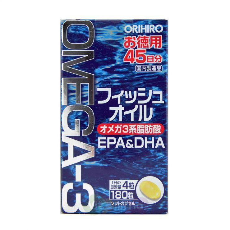 Orihiro Омега 3, 180 капсул