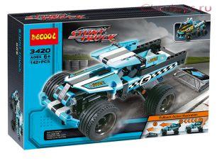 Конструктор Decool Stunt Truck Трюковой грузовик 3420 (Аналог LEGO Technic 42059) 142 дет
