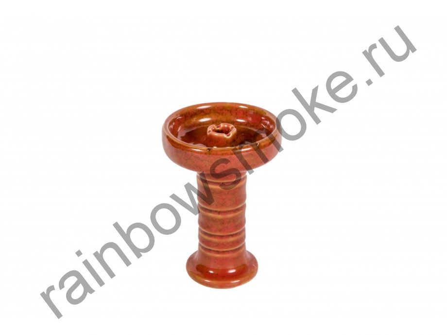 Керамическая чаша фанел L56 красная