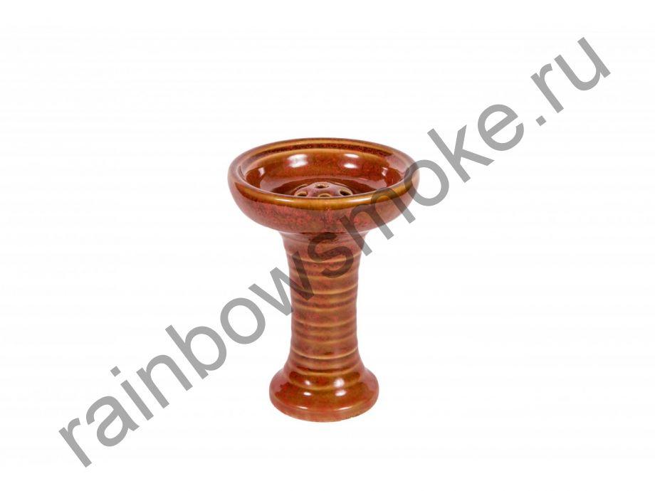 Керамическая чаша фанел L59 красная