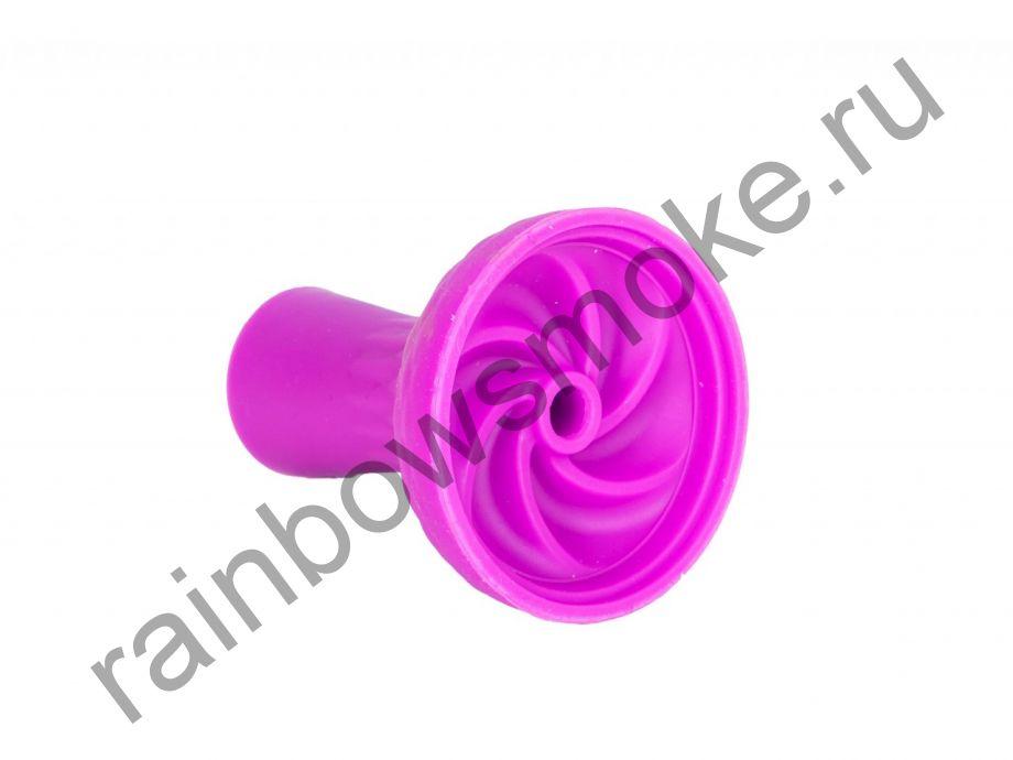 Силиконовая чаша фиолетовая Bowl 12 (вихрь)