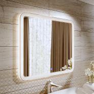 Зеркало с LED подсветкой Alavann Vanda Lux 100x80