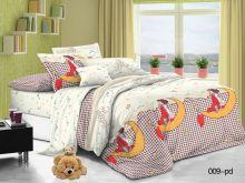 Постельное белье Поплин 1.5 спальный для детей Арт.53/009-PD