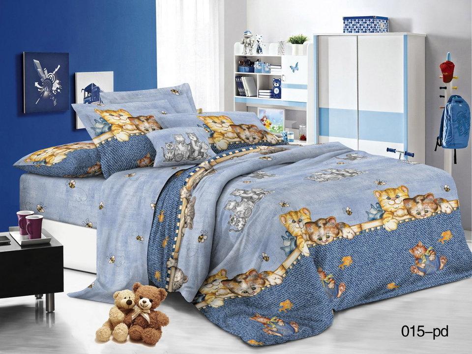265bca92a763 Комплект постельного белья Поплин 1.5 спальный для детей Арт.53/015-PD
