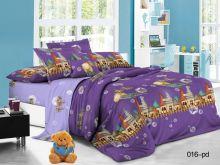 Постельное белье Поплин 1.5 спальный для детей Арт.53/016-PD