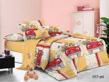 Комплект постельного белья Поплин 1.5 спальный для детей  Арт.53/017-PD
