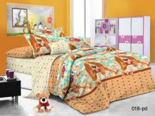 Комплект постельного белья Поплин 1.5 спальный для детей  Арт.53/018-PD