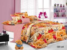 Комплект постельного белья Поплин 1.5 спальный для детей  Арт.53/020-PD