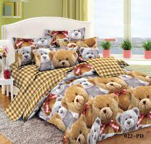 Постельное белье Поплин 1.5 спальный для детей Арт.53/022-PD