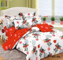 Постельное белье  Поплин 1.5 спальный для детей  Арт.53/025-PD