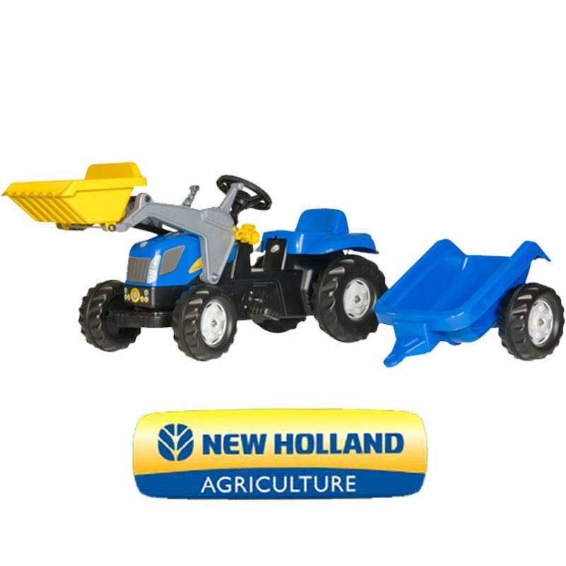 Трактор Rolly Toys RollyKid New Holland 023929
