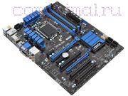 Материнская плата Lga1155 (чипсет H77, ATX, 4 слота DDR3, USB3.0) MSI ZH77A-G43